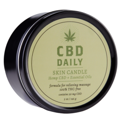 Earthly Body CBD Daily Skin Candle