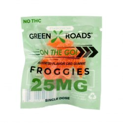 Shop Green Roads CBD Edibles 25mg Froggies use promo code CBD2019 at the checkout and get a 10% discount plus free shipping with orders over $100
